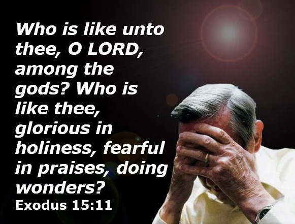 WHO IS LIKE UNTO THEE? GLORIOUS IN HOLINESS