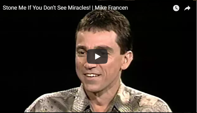 Stone Me If You Don't See Miracles! | Mike Francen |Sid Roth's It's Supernatural!