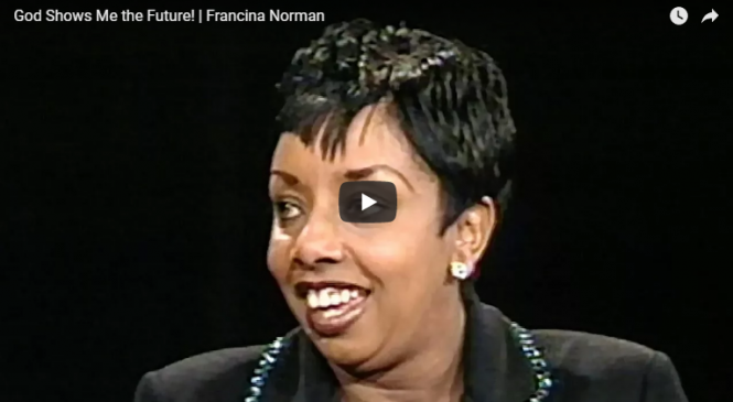God Shows Me the Future! | Francina Norman |Sid Roth's It's Supernatural!