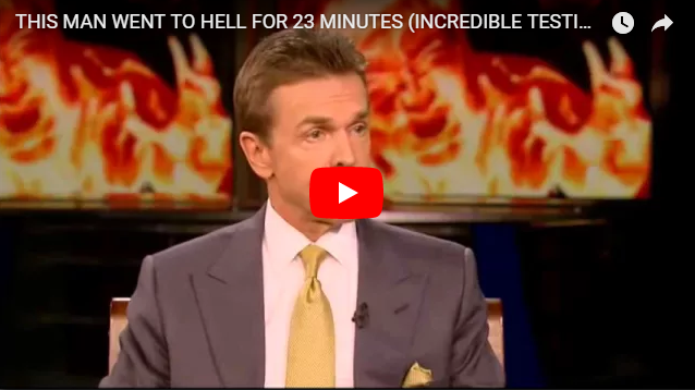 THIS MAN WENT TO HELL FOR 23 MINUTES (INCREDIBLE TESTIMONY)