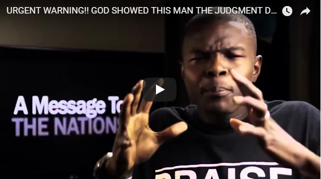 URGENT WARNING!! GOD SHOWED THIS MAN THE JUDGMENT DAY