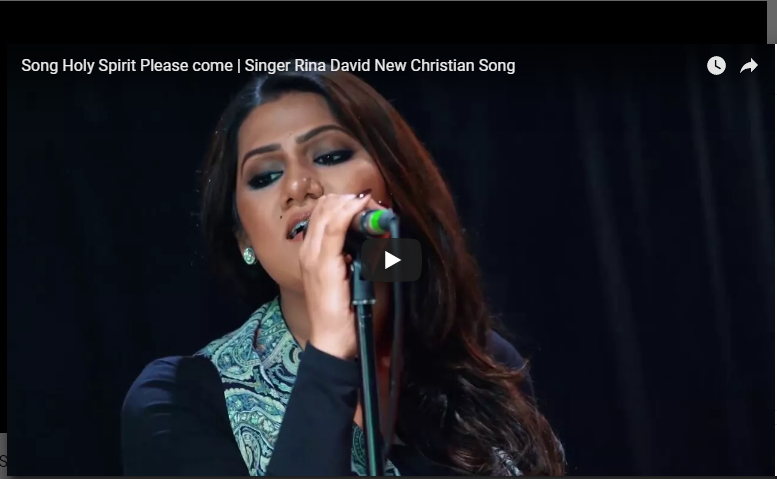 Song Holy Spirit Please come | Singer Rina David New Christian Song –  Christianhome11