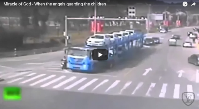Miracle of God – When the angels guarding the children
