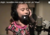 "O Holy Night – Incredible child singer 7 yrs old – plz ""Share"""