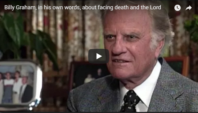 Billy Graham, in his own words, about facing death and the Lord   ABC News