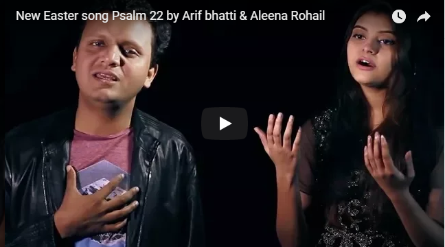 New Easter song by Arif bhatti & Aleena Rohail
