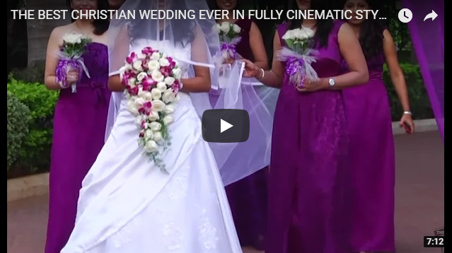 THE BEST CHRISTIAN WEDDING EVER IN FULLY CINEMATIC STYLE