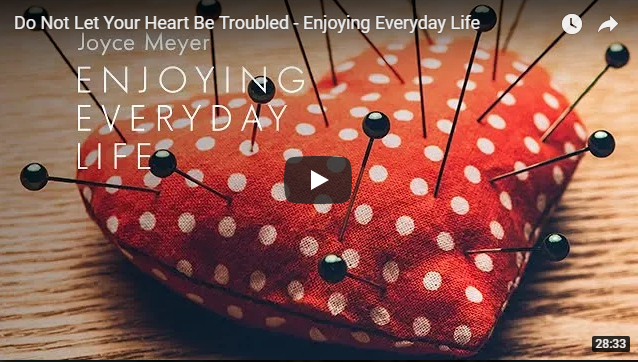 Do Not Let Your Heart Be Troubled – Enjoying Everyday Life