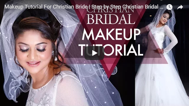 Makeup Tutorial For Christian Bride | Step by Step Christian Bridal Makeup Video | Krushhh by Konica
