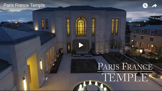 Paris France Temple