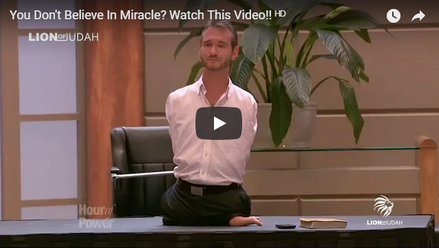 You Don't Believe In Miracle? Watch This Video!!