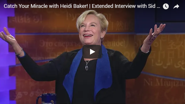 Catch Your Miracle with Heidi Baker!   Extended Interview with Sid Roth