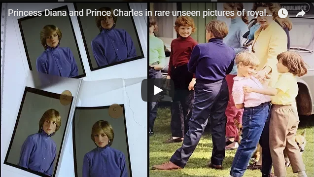 Princess Diana and Prince Charles in rare unseen pictures of royal couple