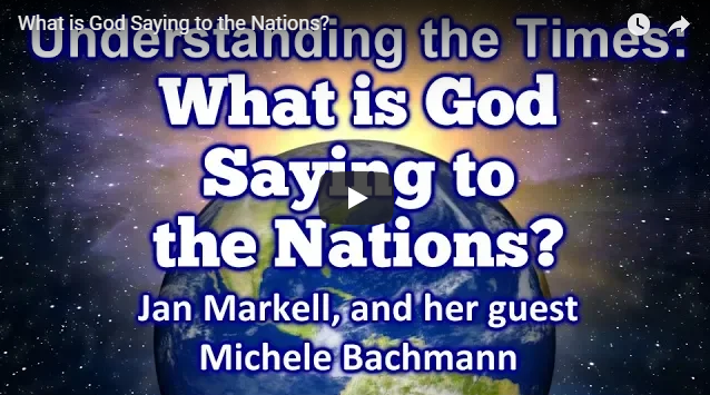 What is God Saying to the Nations?