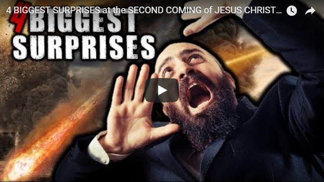 4 BIGGEST SURPRISES at the SECOND COMING of JESUS CHRIST!!!