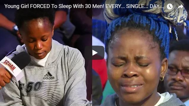 """Young Girl FORCED To Sleep With 30 Men! EVERY… SINGLE… DAY…!!! """"Your rewards in life are determined by the problems you solve for someone else."""" – T.B. Joshua"""