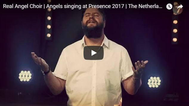 Real Angel Choir | Angels singing at Presence 2017 | The Netherlands