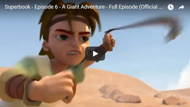 Superbook – Episode 6 – A Giant Adventure – Full Episode