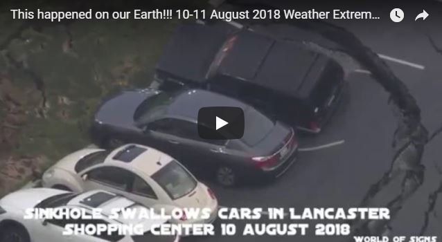 This happened on our Earth!!! 10-11 August 2018 Weather Extreme!!!