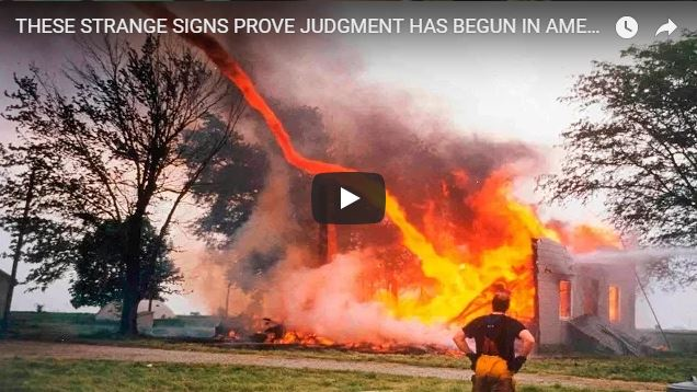 THESE STRANGE SIGNS PROVE JUDGMENT HAS BEGUN IN AMERICA, END TIMES SIGNS AUGUST 2018!