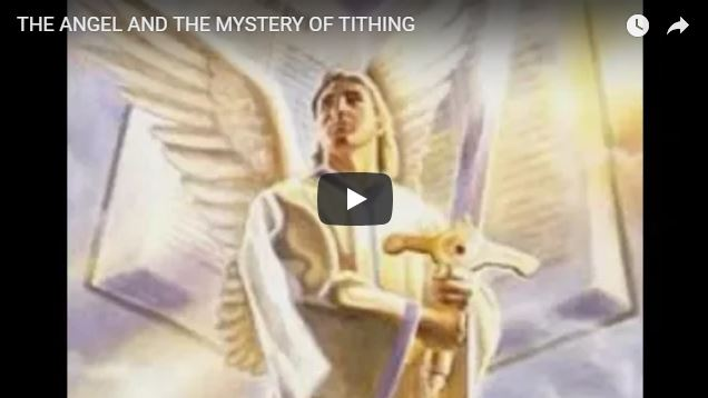 THE ANGEL AND THE MYSTERY OF TITHING