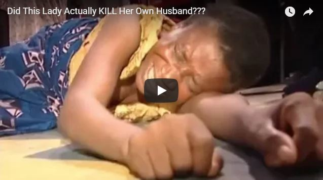 Did This Lady Actually KILL Her Own Husband???