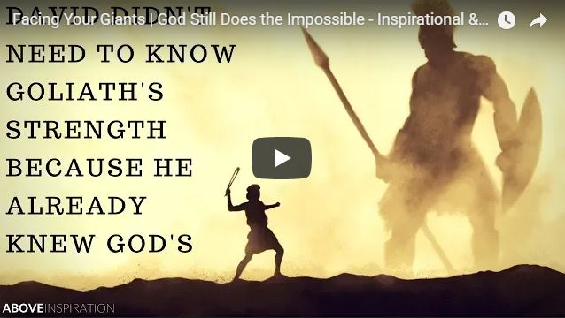 Facing Your Giants | God Still Does the Impossible – Inspirational & Motivational Video