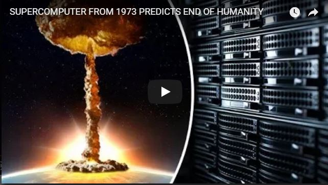 SUPERCOMPUTER FROM 1973 PREDICTS END OF HUMANITY