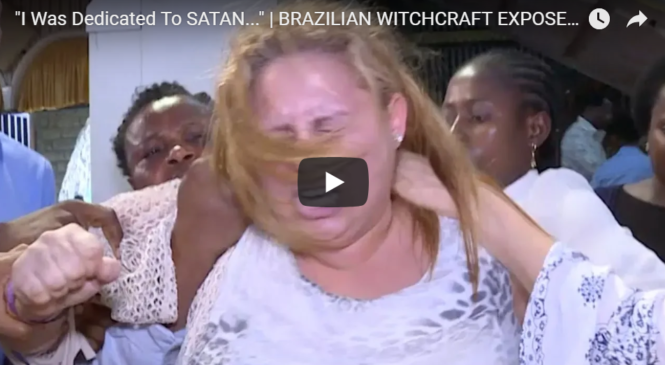 """""""I Was Dedicated To SATAN…"""" 