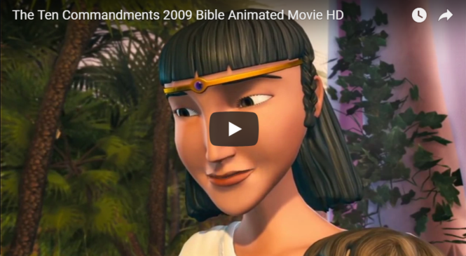 The Ten Commandments 2009 Bible Animated Movie HD