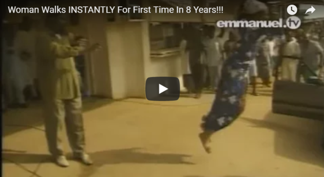 Woman Walks INSTANTLY For First Time In 8 Years!!!
