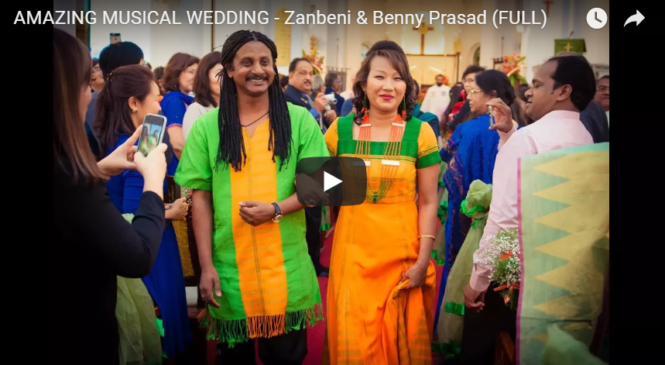 AMAZING MUSICAL WEDDING – Zanbeni & Benny Prasad (FULL)