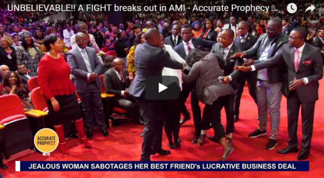 UNBELIEVABLE!! A FIGHT breaks out in AMI – Accurate Prophecy with Alph LUKAU