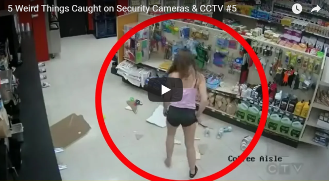 5 Weird Things Caught on Security Cameras & CCTV