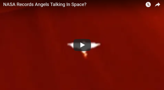 NASA Records Angels Talking In Space?