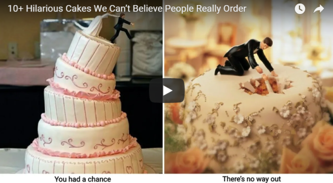 10+ Hilarious Cakes We Can't Believe People Really Order