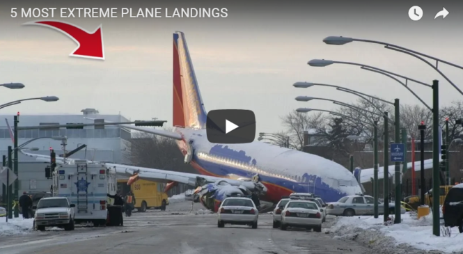 5 MOST EXTREME PLANE LANDINGS