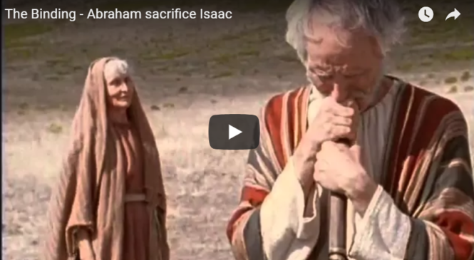 The Binding – Abraham sacrifice Isaac