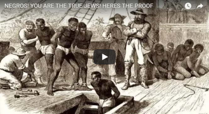 NEGROS! YOU ARE THE TRUE JEWS! HERES THE PROOF