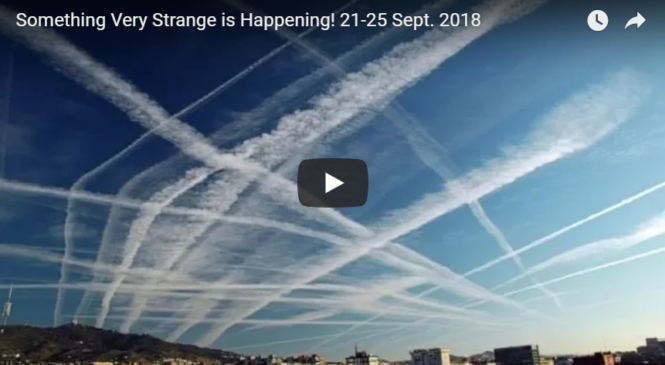 Something Very Strange is Happening! 21-25 Sept. 2018