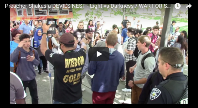 Preacher Shakes a DEVIL'S NEST – Light vs Darkness / WAR FOR SOULS!