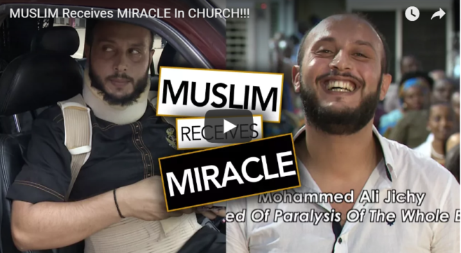 MUSLIM Receives MIRACLE In CHURCH!!!