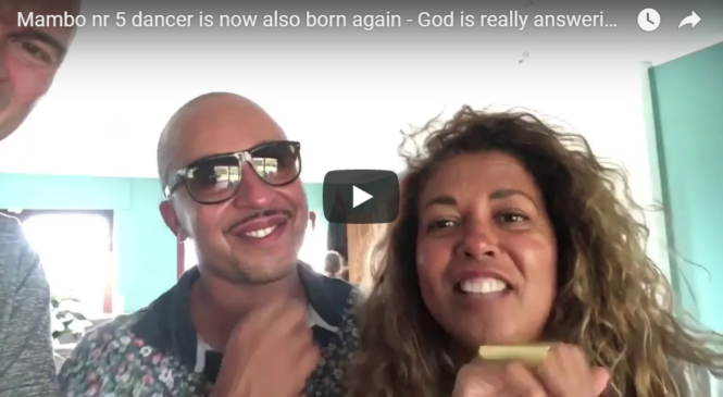 Mambo nr 5 dancer is now also born again – God is really answering prayers