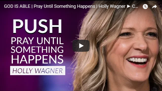 GOD IS ABLE | Pray Until Something Happens | Holly Wagner ► CHRISTIAN MOTIVATIONAL VIDEO