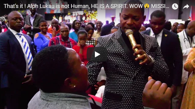 That's it ! Alph Lukau is not Human, HE IS A SPIRIT. WOW 😲 MISSING CHILD LOCATED