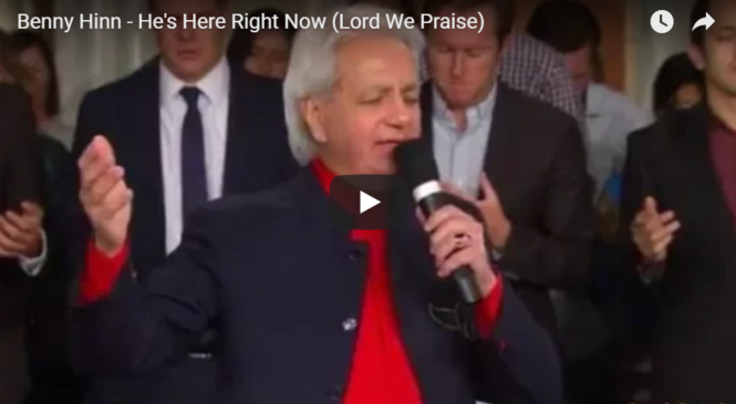 Benny Hinn – He's Here Right Now (Lord We Praise)