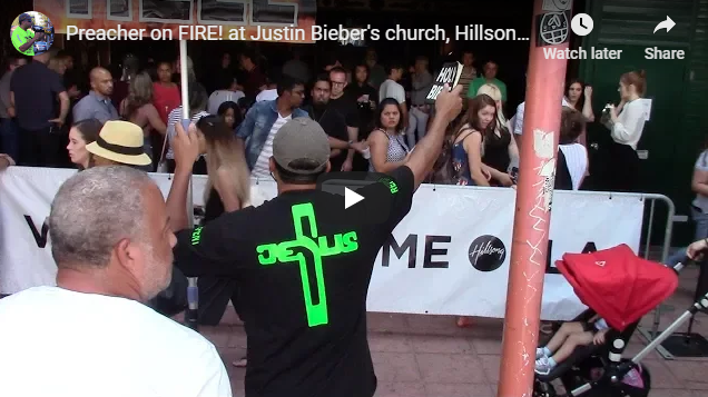 Preacher on FIRE! at Justin Bieber's church, Hillsong Los Angeles!