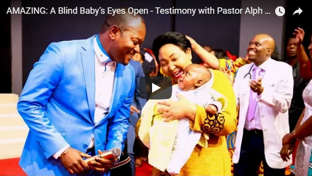 AMAZING: A Blind Baby's Eyes Open -Powerful Testimony with Pastor Alph Lukau