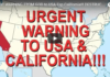 URGENT WARNING FROM GOD to USA Esp California!!! DESTRUCTION'S COMING!!!