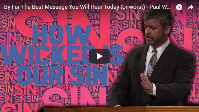 By Far The Best Message You Will Hear Today (or worst) – Paul Washer